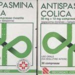 Antispasmina colica, confezioni ritirate dalla vendita